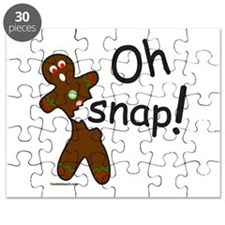 GINGERBREAD MAN OH SNAP Puzzle
