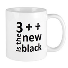 Black Text Logo Mug