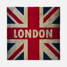 Vintage Union Jack Queen Duvet