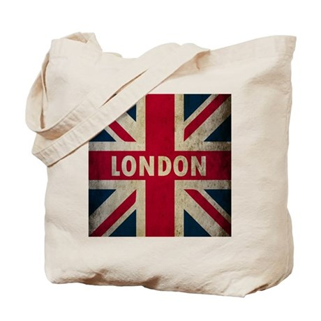 Vintage Union Jack Tote Bag