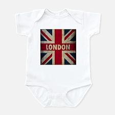 Vintage Union Jack Infant Bodysuit