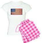 Vintage USA Flag Women's Light Pajamas