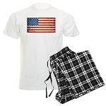 Vintage USA Flag Men's Light Pajamas