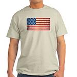 Vintage USA Flag Light T-Shirt