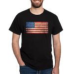 Vintage USA Flag Dark T-Shirt