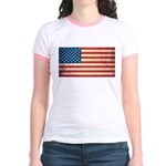 Vintage USA Flag Jr. Ringer T-Shirt