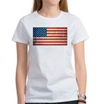 Vintage USA Flag Women's T-Shirt