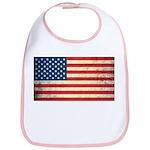 Vintage USA Flag Bib