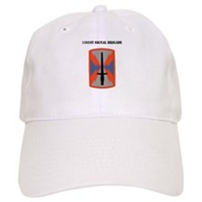 1101st Signal Brigade with Text Baseball Cap