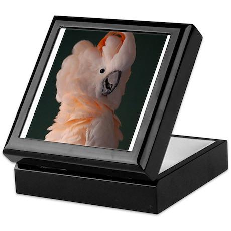Moluccan Cockatoo Keepsake Box