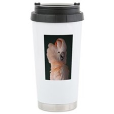 Moluccan Cockatoo Travel Mug