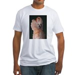 Moluccan Cockatoo Fitted T-Shirt