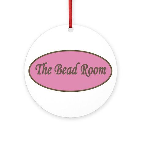 The Bead Room Logo Ornament (Round)
