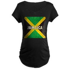 Jamaica Grunge Flag T-Shirt