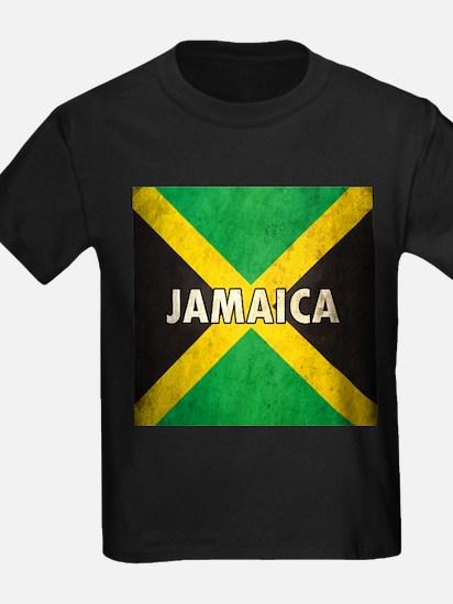 Jamaica Grunge Flag T