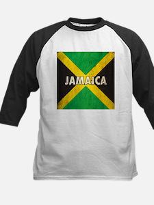 Jamaica Grunge Flag Tee