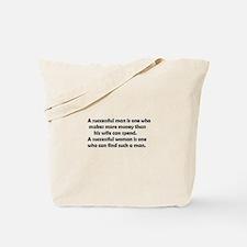 Funny success Tote Bag