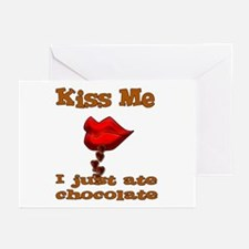 Chocolate Kiss Greeting Cards (Pk of 10)