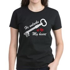 He Unlocks My Heart Tee