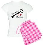 He Unlocks My Heart Women's Light Pajamas