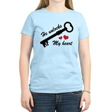 He Unlocks My Heart T-Shirt