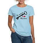 He Unlocks My Heart Women's Light T-Shirt