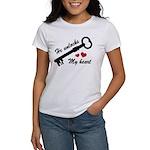 He Unlocks My Heart Women's T-Shirt