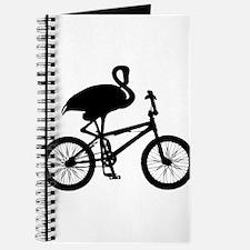 Flamingo on Bicycle Journal
