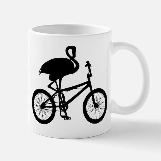 Flamingo on Bicycle Mug