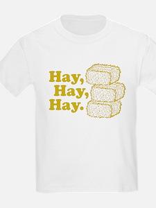 Hay, Hay, Hay Kids T-Shirt