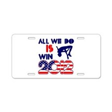 USA High Jump Designs Aluminum License Plate