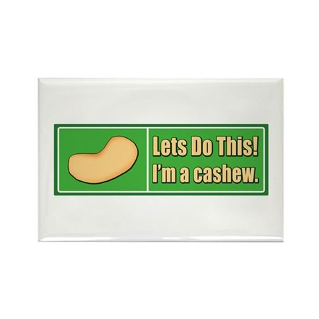 I'm a Cashew Rectangle Magnet (100 pack)