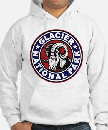 Glacier Red White & Blue Circle Hoodie