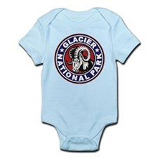Glacier Red White & Blue Circle Infant Bodysuit