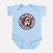 Glacier Red White & Blue Circle Infant Bodysuit