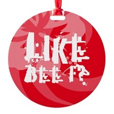 Like Beef? Ornament