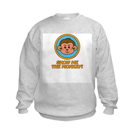 Show me the Monkey Kids Sweatshirt