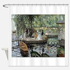Pierre-Auguste Renoir La Grenouillere Shower Curta