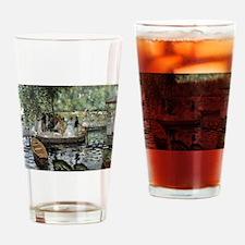 Pierre-Auguste Renoir La Grenouillere Drinking Gla