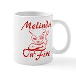 Melinda On Fire Mug