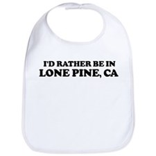 Rather: LONE PINE Bib