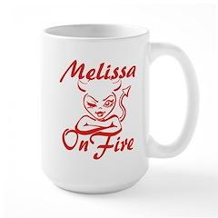 Melissa On Fire Mug