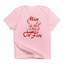 Mia On Fire Infant T-Shirt