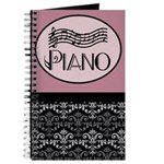 Music Practice Piano Journal Journal