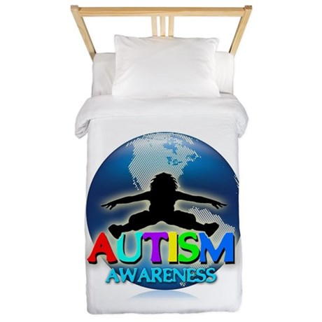 Autism Awareness Twin Duvet