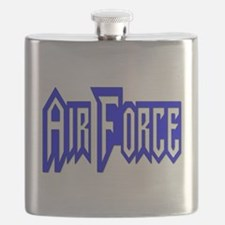 Cute Air force aunt Flask