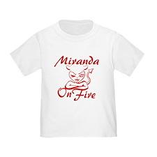 Miranda On Fire T