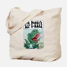 Daddy's Lil' T-Rex Tote Bag