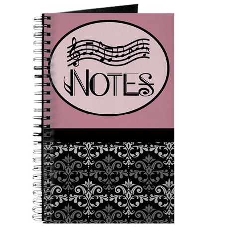 Notes Music Practice Book Journal