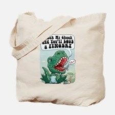 Pinch Lil' T-Rex Tote Bag